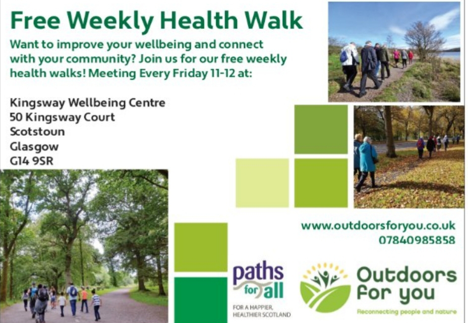 Weekly walk
