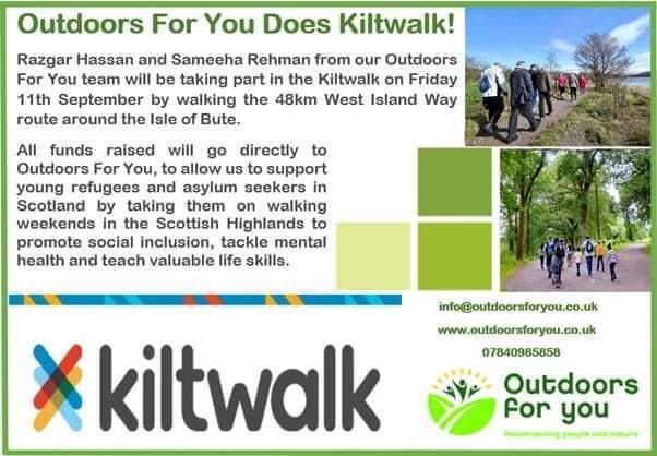 outdoors for you kiltwalk